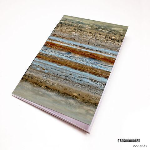 """Блокнот """"Космос. Юпитер"""" (А7; арт. 851) — фото, картинка"""