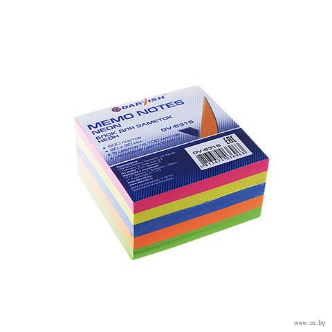 "Бумага для заметок ""Darvish"" (90x90 мм; 500 листов; 5 цветов)"