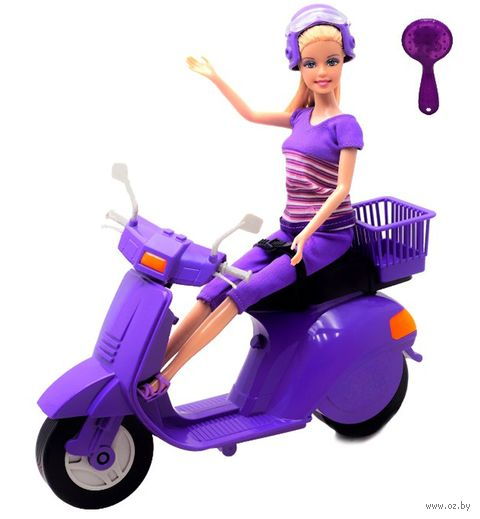 "Кукла ""Defa. На скутере"" — фото, картинка"