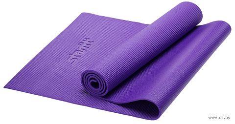 Коврик для йоги FM-101 (173x61x0,6 см; фиолетовый) — фото, картинка