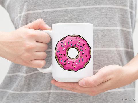 """Кружка """"Симпсоны. Пончик"""" (арт. 408) — фото, картинка"""