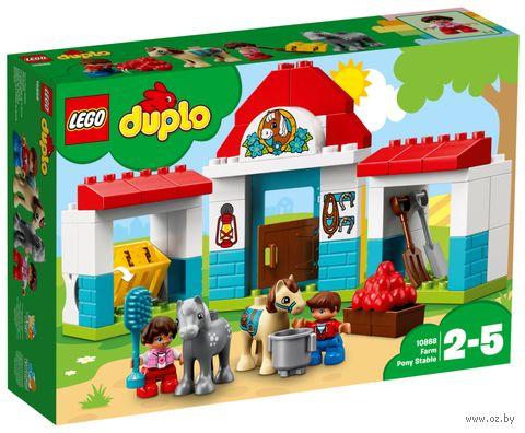 """LEGO Duplo """"Конюшня на ферме"""" — фото, картинка"""
