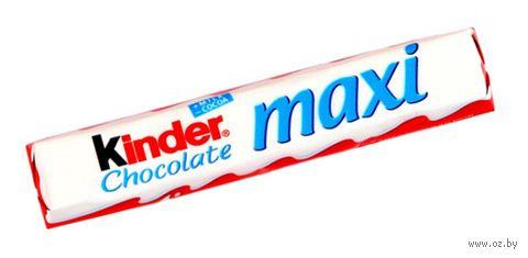 """Шоколад молочный """"Kinder Chocolate"""" (21 г) — фото, картинка"""
