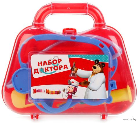 """Набор доктора """"Маша и Медведь"""" (арт. B1533571-R) — фото, картинка"""