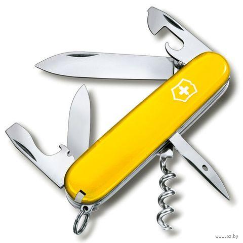 "Нож ""Spartan"" (12 функций; жёлтый) — фото, картинка"