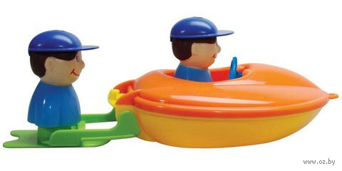 """Игрушка для купания """"Лодка с серфером"""""""