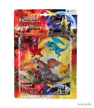 """Набор фигурок """"Драконы"""" (арт. Н44227) — фото, картинка"""