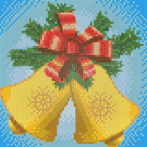 """Алмазная вышивка-мозаика """"Новогодние колокольчики"""""""