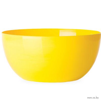 """Цветочный горшок """"Cherry"""" (18 см; желтый) — фото, картинка"""