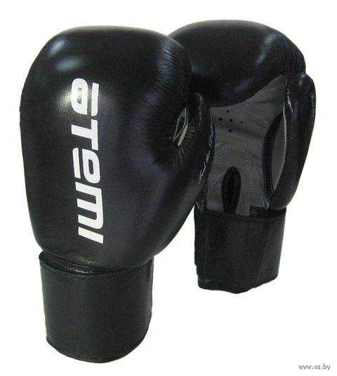 Перчатки боксёрские LTB19009 (8 унций; чёрные) — фото, картинка