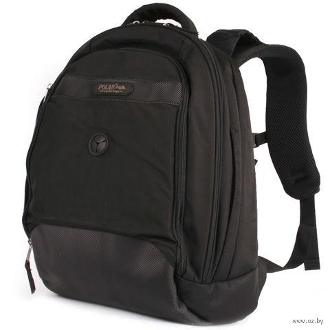 Рюкзак для ноутбука П1286 (17 л; чёрный) — фото, картинка