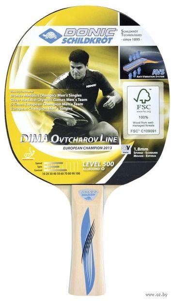 """Ракетка для настольного тенниса """"Schidkroet Ovtcharov 500 FSC"""" — фото, картинка"""
