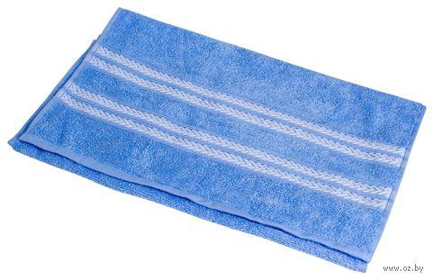 """Полотенце махровое """"Адриатика"""" (40х70 см; синее) — фото, картинка"""
