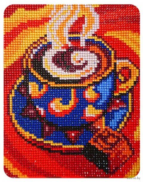 "Алмазная вышивка-мозаика ""Кофейный аромат"" (170х210 мм) — фото, картинка"