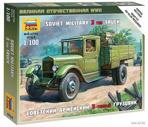"""Сборная модель """"Советский грузовик ЗИС-5"""" (масштаб: 1/100) — фото, картинка"""