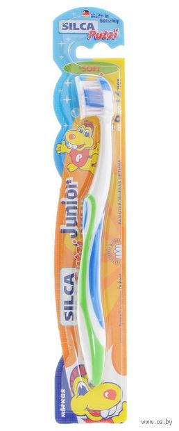 Детская зубная щетка Silca Putzi Junior (цвет: ассорти)