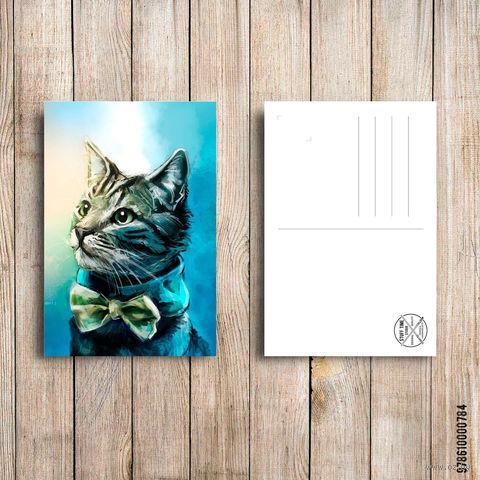 """Открытка """"Котик"""" (арт. 784) — фото, картинка"""