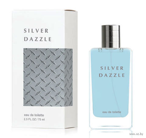 "Туалетная вода для мужчин ""Silver Dazzle"" (75 мл) — фото, картинка"