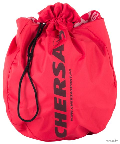 Чехол для мяча для художественной гимнастики (полиэстер; красный) — фото, картинка