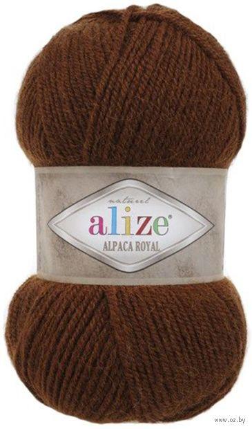 """Пряжа """"ALIZE. Alpaca Royal №690"""" (100 г; 250 м; кирпичный) — фото, картинка"""