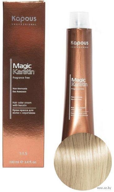 """Крем-краска для волос """"Non Ammonia"""" тон: 10.0, платиновый блондин — фото, картинка"""