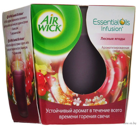 "Ароматизированная свеча Air Wick ""Лесные ягоды"" (105 г)"