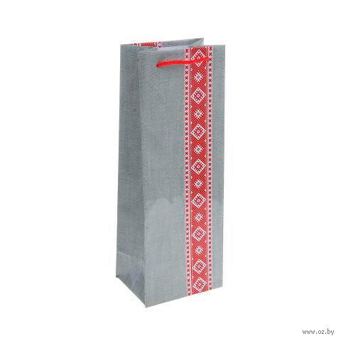 Пакет бумажный подарочный (13х36х10 см; арт. BB101386)