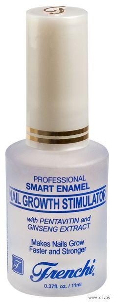 """Средство для укрепления ногтей """"Стимулятор ускоренного роста. Умная эмаль"""" тон: прозрачный — фото, картинка"""