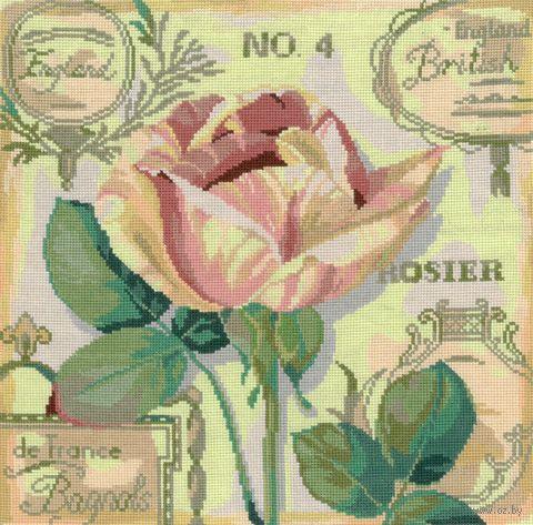 """Вышивка крестом """"Английская роза"""""""