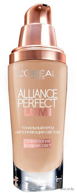 """Тональный крем для лица """"Alliance Perfect Lumi"""" (тон: N1, cлоновая кость; 30 мл)"""