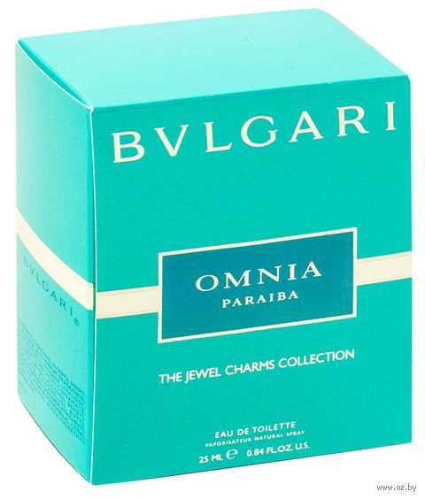 "Туалетная вода для женщин Bvlgari ""Omnia Paraiba"" (25 мл) — фото, картинка"