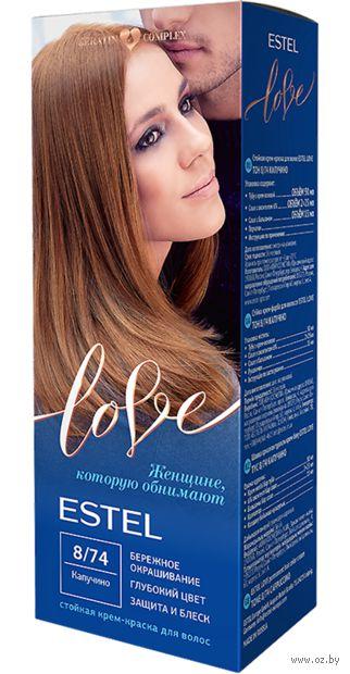 "Крем-краска для волос ""Estel Love"" (тон: 8/74, капучино) — фото, картинка"