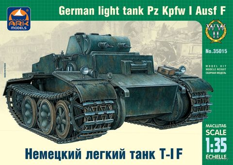 Немецкий лёгкий танк T-IF (масштаб: 1/35) — фото, картинка