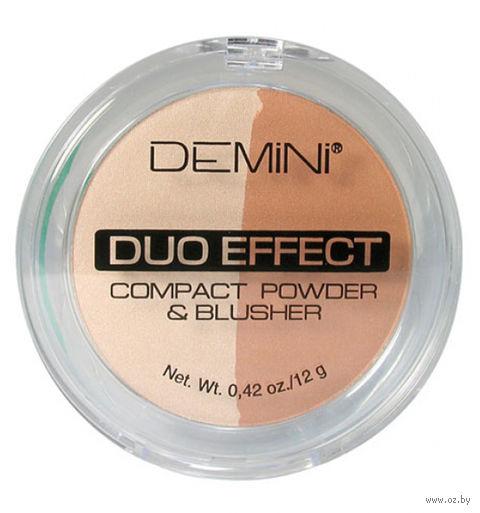 """Пудра-румяна """"Compact Powder Duo Effect"""" тон: 22 — фото, картинка"""