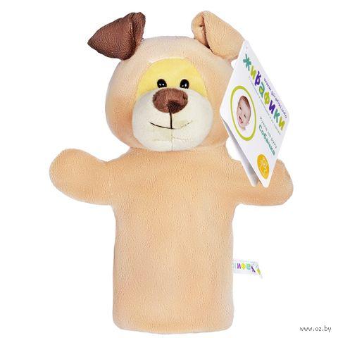 """Мягкая игрушка на руку """"Щенок"""" (25 см) — фото, картинка"""