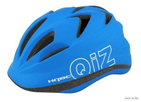 "Шлем велосипедный ""Qiz"" (синий; р. 52-57) — фото, картинка"