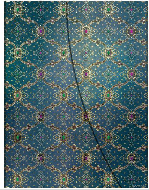 """Записная книжка Paperblanks """"Синева"""" в линейку (формат: 180*230 мм, ультра)"""