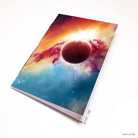 """Блокнот """"Космос"""" (А5; арт. 838) — фото, картинка"""