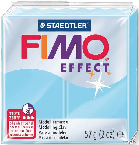 """Глина полимерная """"FIMO Effect"""" (светло-голубой; 57 г) — фото, картинка"""