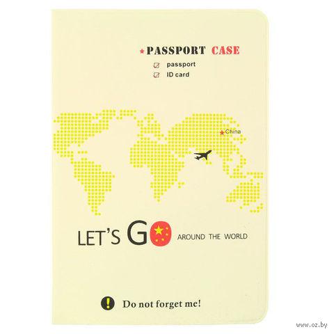 "Обложка на паспорт ""Lets Go China"" — фото, картинка"