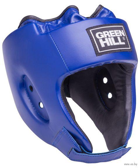 "Шлем открытый ""Alfa"" (XL; синий; арт. HGA-4014) — фото, картинка"