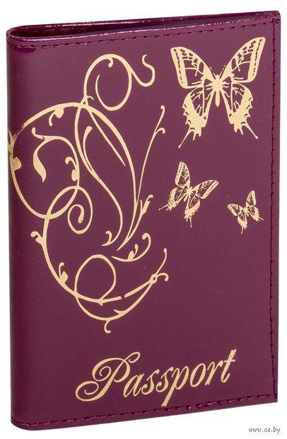 """Обложка на паспорт """"Бабочки"""" (в ассортименте) — фото, картинка"""