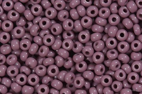 Бисер №23020 (светло-фиолетовый; 10/0) — фото, картинка