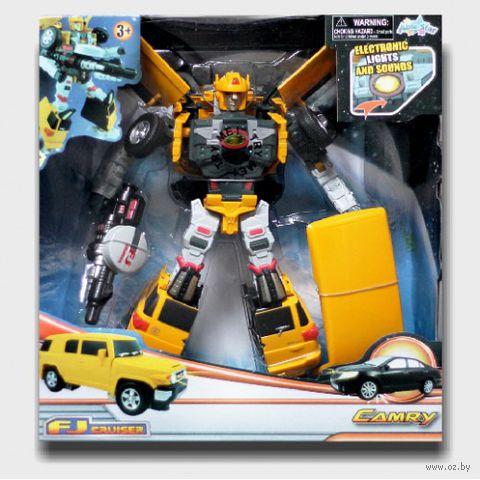 """Робот-трансформер """"Тойота Лэнд Крузер"""""""