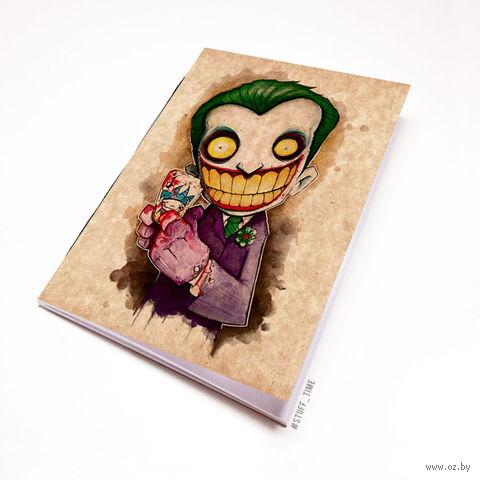 """Блокнот крафт """"Джокер"""" А7 (045)"""