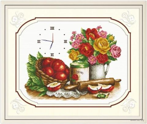 """Вышивка крестом """"Время обедать"""""""
