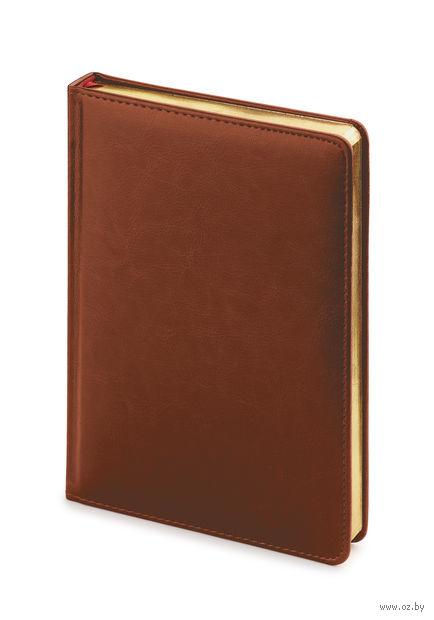 """Ежедневник недатированный """"Sidney Nebraska"""" (A5; коричневый) — фото, картинка"""