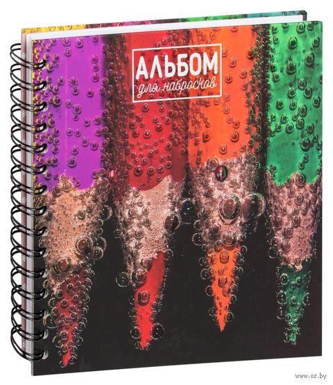 """Альбом для набросков """"Карандаши"""" — фото, картинка"""