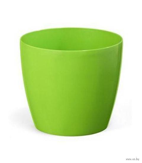 """Кашпо """"Magnolia"""" (15,5 см; зеленое) — фото, картинка"""