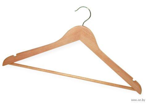 Вешалка для одежды деревянная — фото, картинка